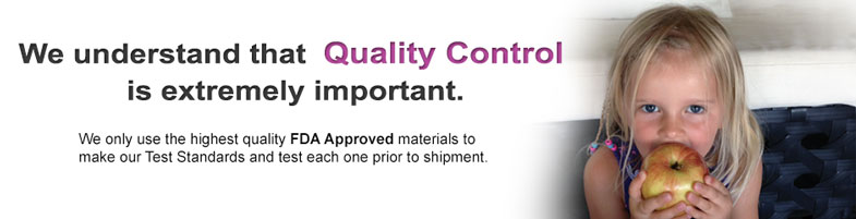 Quality Control - Test Standards