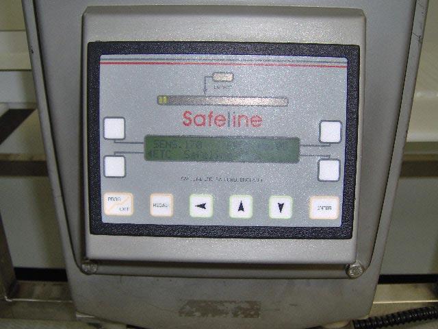 used safeline metal detector standard 300khz refurbished rh fastecservices com safeline metal detector manual pdf safeline signature metal detector manual